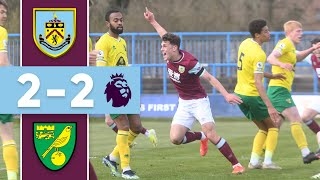YOUNG CLARETS COMEBACK | Burnley v Norwich | Premier League 2