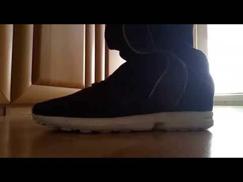 promo code 8e0c5 dba76 Worker Bro' wears Adidas ZX Flux 6 days in row
