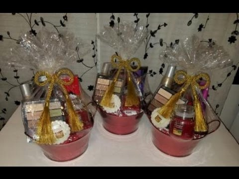 Gift Basket Idea/Tutorial for the Grown & Sexy (2016)