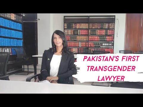 Pakistan's First Transgender Lawyer goes from Begging to Fighting in Court.