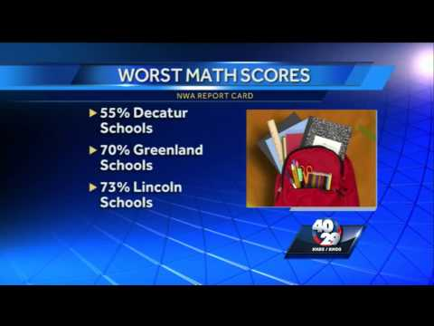 NWA Report Card grades area school districts
