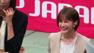 R1.09.27 大林素子、フジテレビ女子アナ 宮司愛海 ワールドカップバレーボール女子2019 大阪