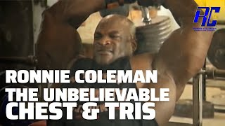 Ronnie Coleman The Unbelievable DVD in 1080 HD | Part 5 Chest & Tris