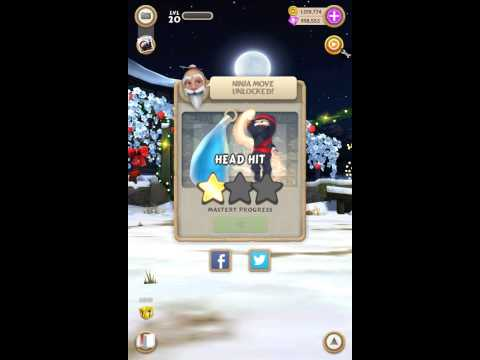 Clumsy Ninja gameplay on android episode 1