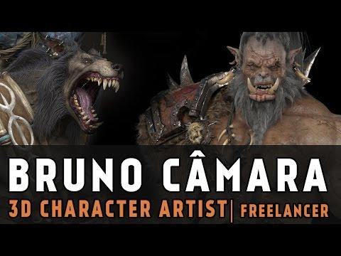 Entrevista: Bruno Camara | Game Concept Art Brasil