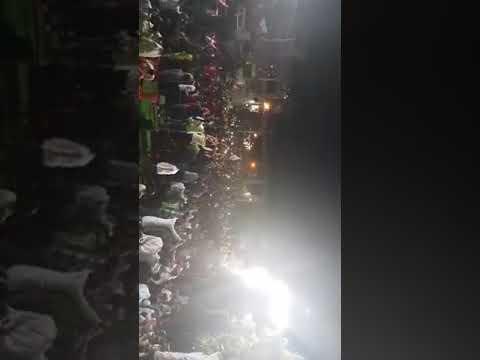 Today Aimim Mla janab imtiyaz jalil Sahab addressing public meeting at Nandurbar