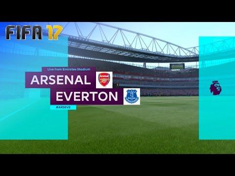 FIFA 17 - Arsenal vs. Everton @ Emirates Stadium