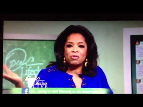 Oprah's Lifeclass at Kilwins