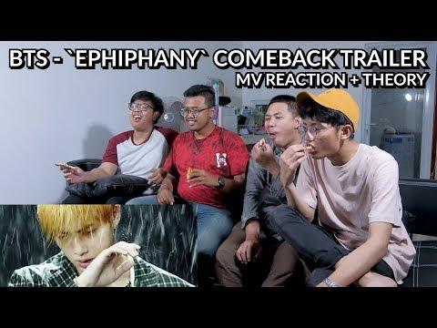JADI SELAMA INI JIN ADALAH SATPOL PP ?? | BTS - EPIPHANY COMEBACK TRAILER MV REACTION + THEORY