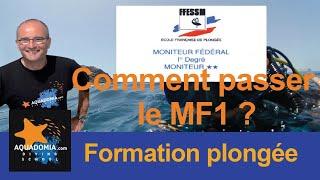 Comment passer le MF1 Moniteur fédéral 1° degré étant N4, à quel prix ?