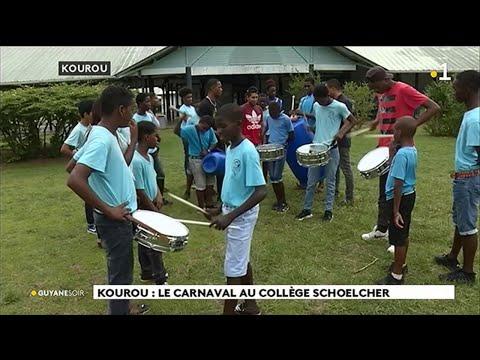 Kourou : le carnaval au collège Schoelcher