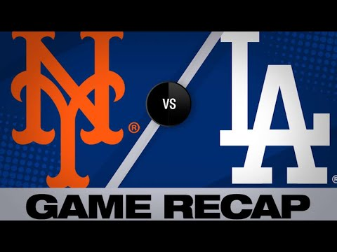5/30/19: Ryu, Jansen lead Dodgers past Mets, 2-0
