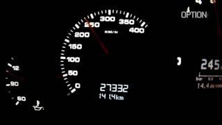 285 km/h en Porsche 9ff GTurbo 1200 (Option Auto)