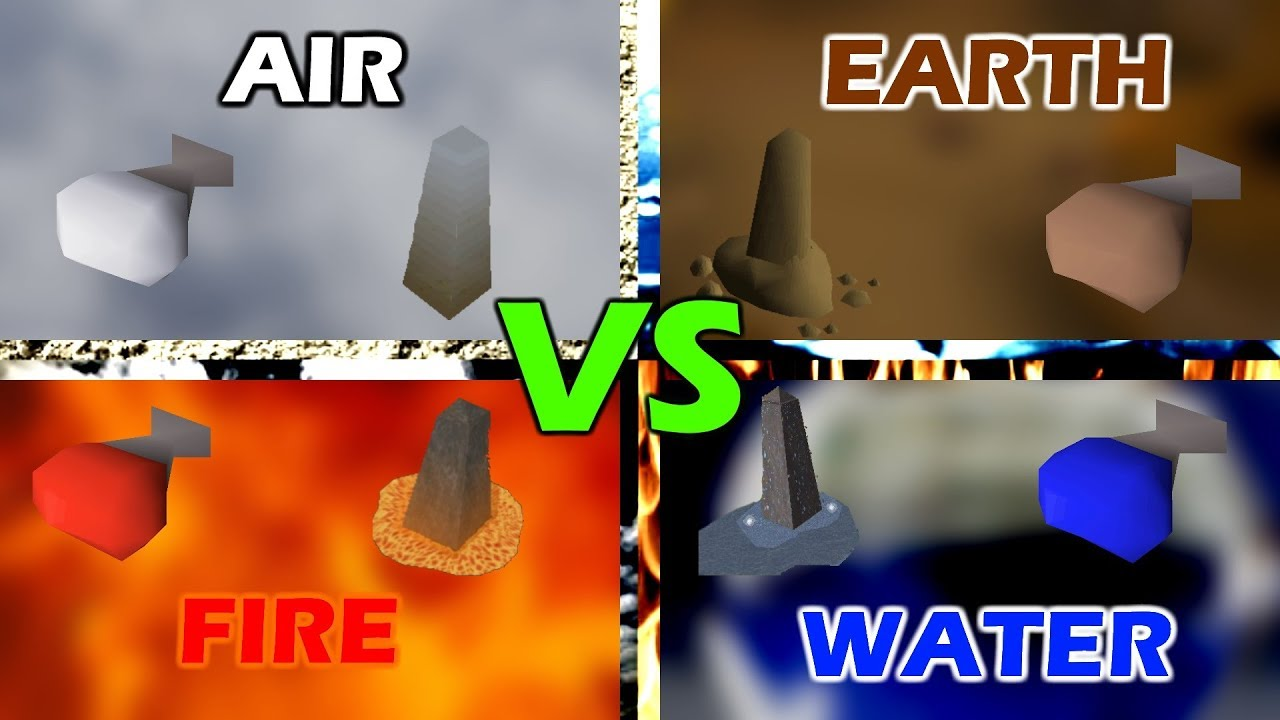 Osrs Air Vs Earth Vs Water Vs Fire Which Is The Best Orb To Craft