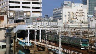 【相鉄】ハエE233系、相鉄横浜~平沼橋を行く【代走】