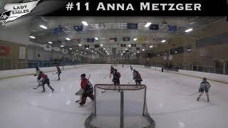 2018-2019 #11 Anna Metzger GY 2022 Carolina Lady Eagle Highlights