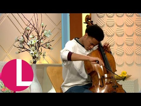 Royal Wedding Cellist Sheku Kanneh-Mason Performs Live on Lorraine! | Lorraine