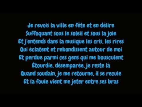 Edith Piaf - La foule (Lyrics/Paroles HD)