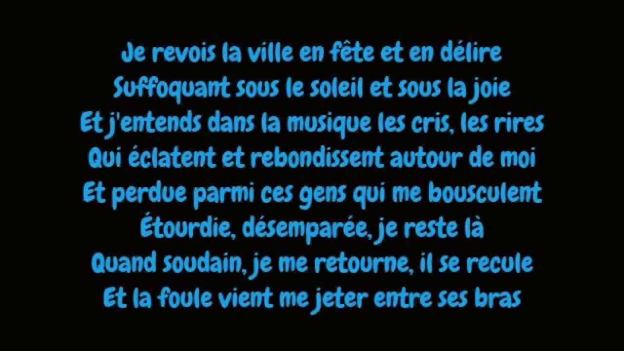 Download Edith Piaf - La foule (Lyrics/Paroles HD)