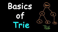 Basics of trie