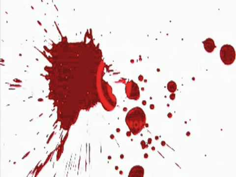 blood squirt stock footage