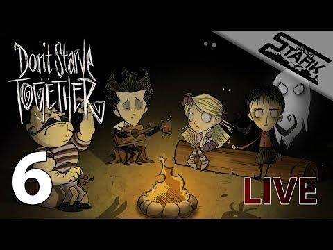 Don't Starve Together - 6.Rész(Új kezdet) - Stark LIVE