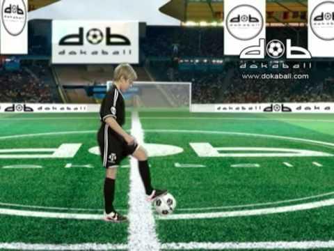 Футбольные упражнения с мячом на резинке видео 3 - YouTube
