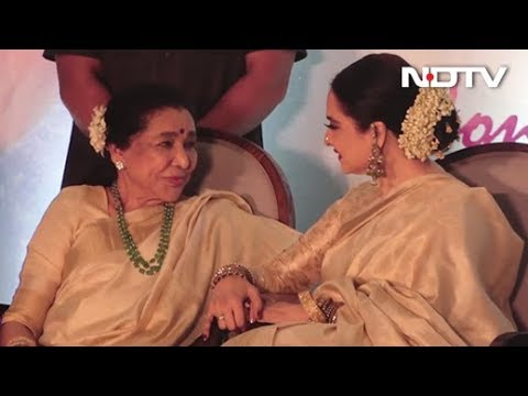 Watch! Asha Bhosle's