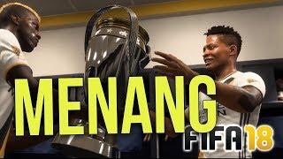 MENANG LIGA !! - FIFA 18 The Journey Indonesia Gameplay Part 12