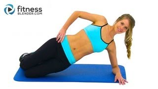 5x5x5 Pulse Workout for Abs and Obliques - 5x5x5 Workout to Get Rid of Love Handles