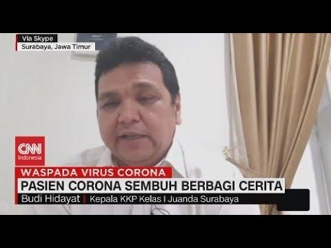 Cerita Pasien Yang Sembuh Dari Virus Corona
