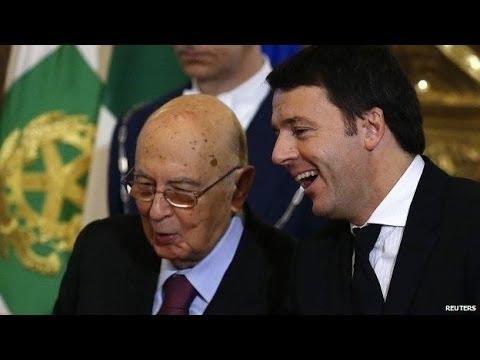 Matteo Renzi sworn in as Italy's new PM in Rome ceremony
