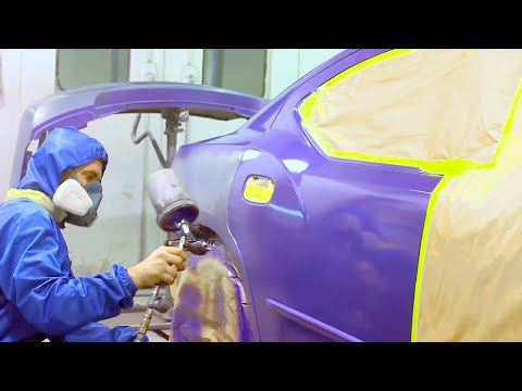 How to Blend Car Paint (Base Coat / Clear Coat)
