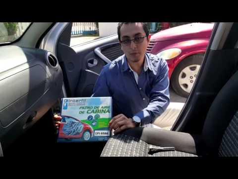 Cambio de filtro de cabina renault sandero 2013 interfil for Filtro cabina camaro 2016