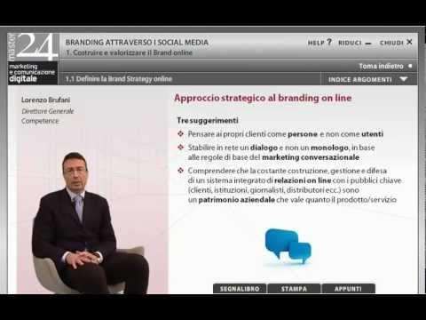 Definire la Brand Strategy online - Lorenzo Brufani