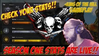 Gears of War 4  stats- SEASON ONE STATS ARE NOW LIVE + (King of the Hill Gameplay)