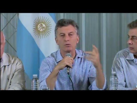 Macri en el Litoral: Las pérdidas son millonarias