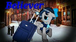 /МЛП Клип/ Лира Ночная Лиса - Believer на русском.  /MLP Clip/ Lyra Night Fox - Believer in Russia