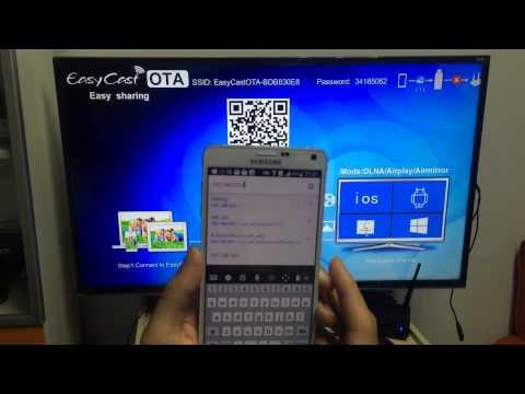EasyCast OTA video user manual