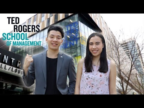 A Tour of the Ted Rogers School of Management - TRSM