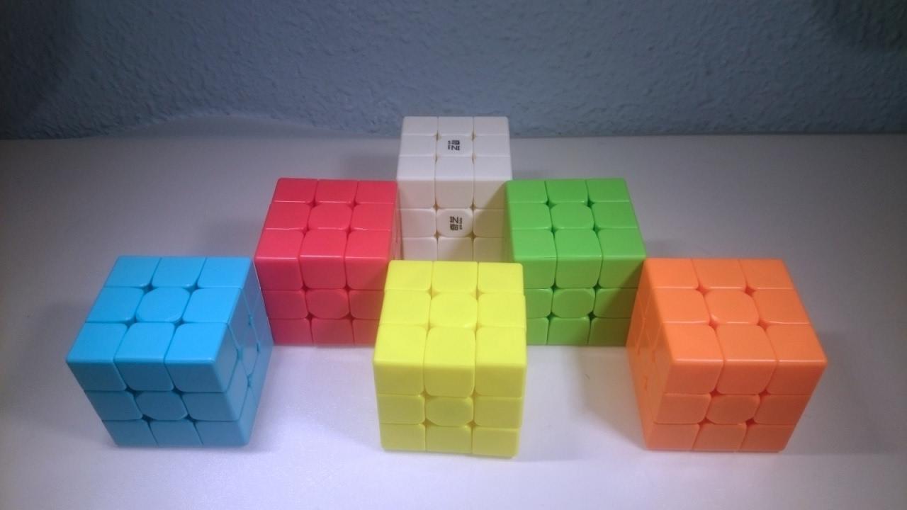 Como Hacer Cubos De Colores Youtube