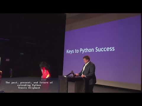 Image from The past, present, and future of extending Python