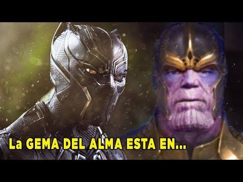¿Aquí se Oculta la Ultima Gema del Infinito?- (Alma)Thanos, Pantera Negra