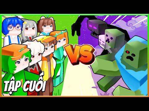Thành Phố Yomost Tập Cuối: Trận Chiến Cuối Cùng | Phim Minecraft Hero Team