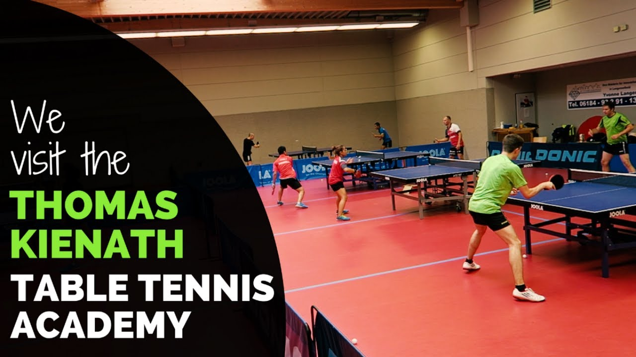 Our Visit To The Thomas Keinath Table Tennis Academy In Germany