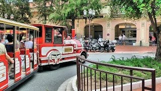 Quick Tour of Monaco in mini-train, French Riviera (Côte d'Azur) [HD] (videoturysta)