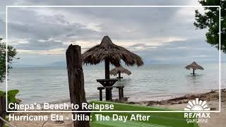 Chepa's Beach Utila, Honduras - Hurricane Eta: The Days After