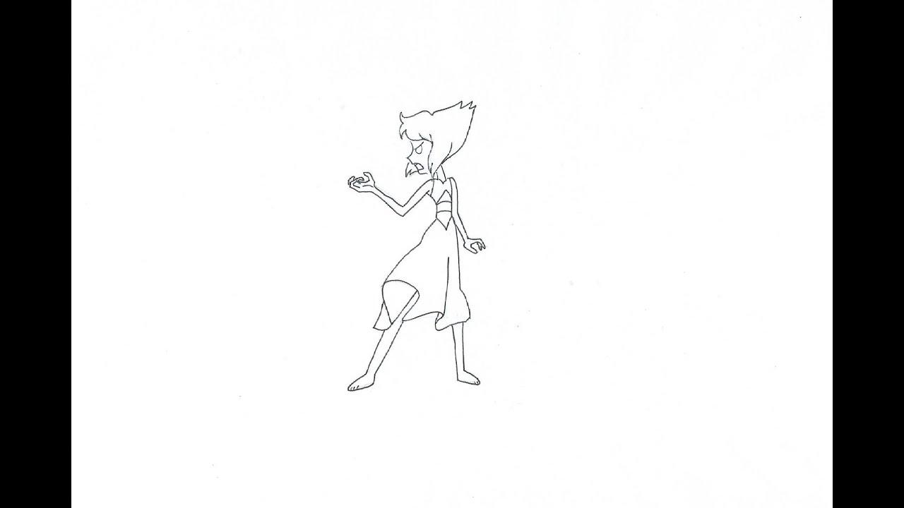 Como dibujar a Lapislázuli enfada (Steven Universe) (rápido) - YouTube