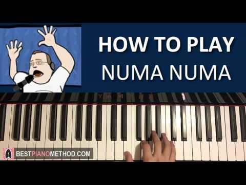 "HOW TO PLAY - Numa Numa - ""Dragostea din tei"" - by O-zone (Piano Tutorial Lesson)"