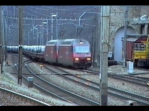 064 Classic Gotthard Railway 1998 - Mythos Classic Historic Gotthard - Best of YouTube